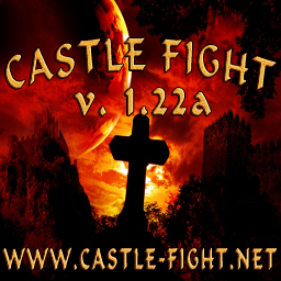 скачать castle fight 1.22a