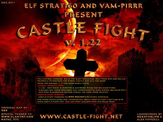 Загрузочный экран Castle-Fight 1.22 ES