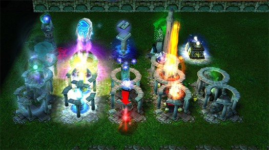 Warcraft III-Castle Wars 1. 7 map Download, Free Warcraft III-Castle W