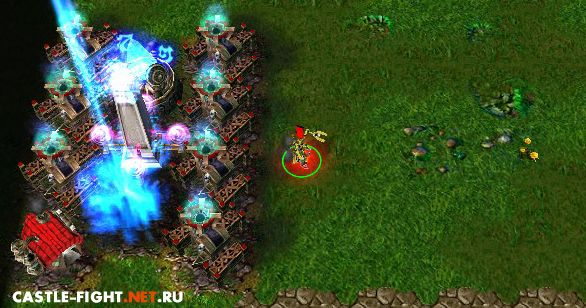 War3 Patch Warcraft 3 1. 26a patch Castle-Fight 1. 17 Rus, Castl.